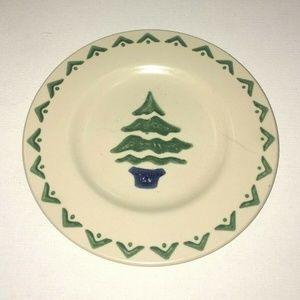 Pfaltzgraff NORDIC CHRISTMAS Tree Accent Salad